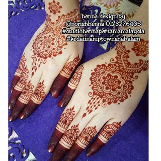 design henna kahwin perkhidmatan ukiran inai pengantin