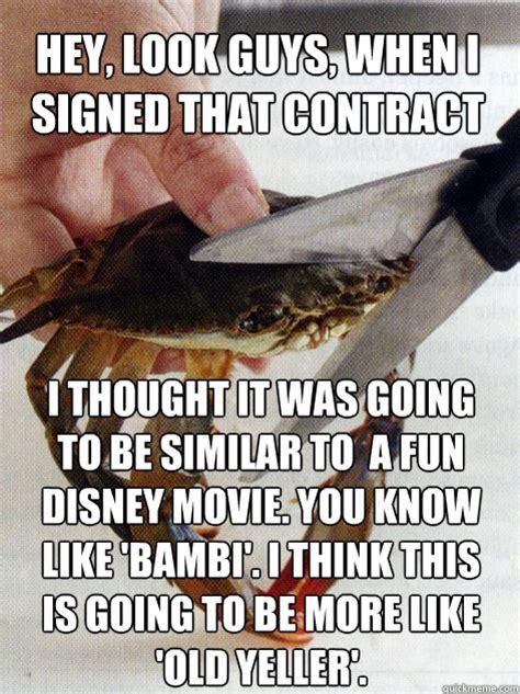 Crab Scissors Meme - optimistic crab memes quickmeme
