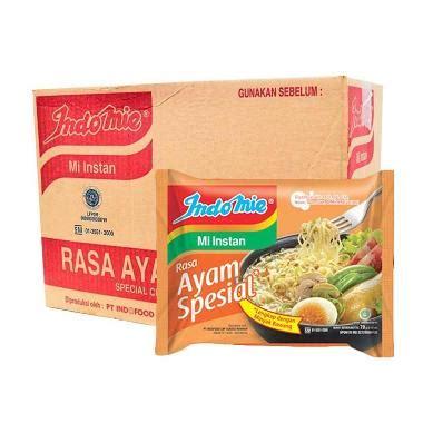 Indomie Rasa Special 1 Dus jual indomie rasa ayam special mie instan 68 g 40 pcs harga kualitas terjamin