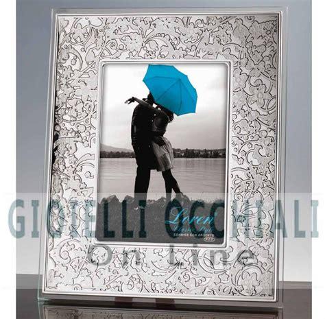 cornici d argento prezzi cornici in argento portafoto in cristallo a torino e shop