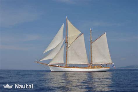 sailing boat ketch sailing boat rent ketch aurique in marseille vieux port