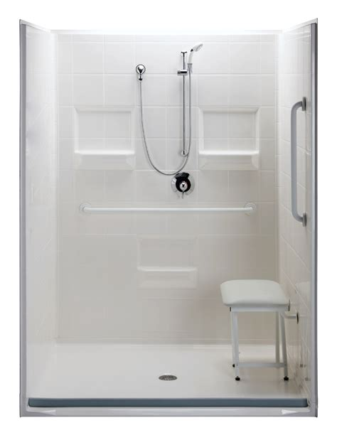 barrier free shower model 5lrs6034b75b barrier free accessible shower