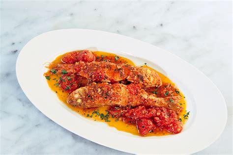 cucinare triglie ricetta triglie alla livornese la cucina italiana