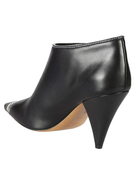 Zipped Ankle Boots zipped ankle boots in black modesens