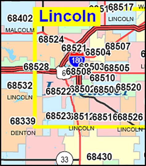 area code lincoln ne lincoln ne zipcode map
