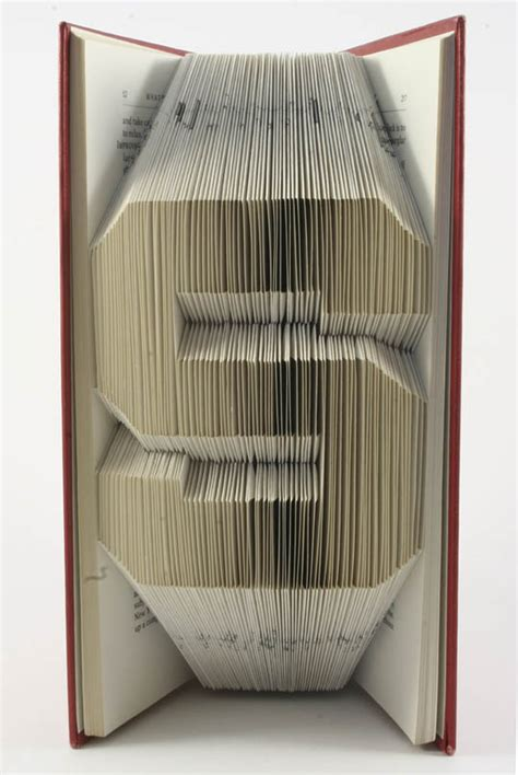 Paper Origami Book - book origami of isaac salazar likepage