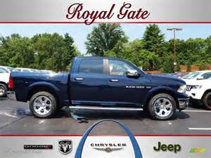 Dodge Ram True Blue Pearlcoat 2012 True Blue Pearl Dodge Ram 1500 Laramie Crew Cab 4x4