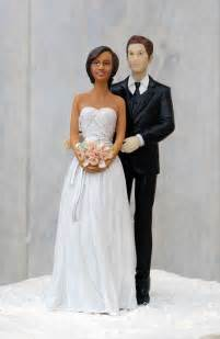 biracial wedding cake toppers quot taking a gamble quot las vegas wedding cake topper custom hair colors wedding collectibles