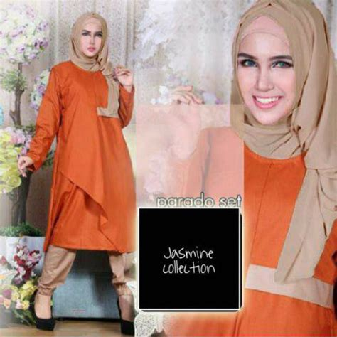Grosir Murah Baju Wanita Terlaris Lidya Set grosir baju muslim murah parado 3 set grosir baju muslim pakaian wanita dan busana murah