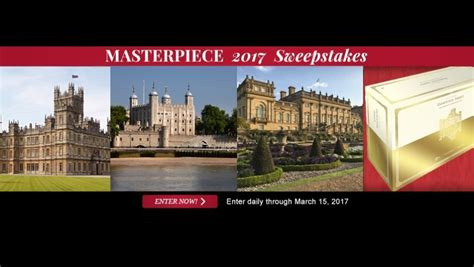 Masterpiece Sweepstakes - connecticut public television cptv