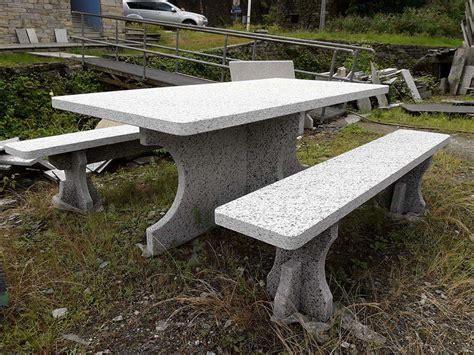 tavoli pietra tavolo in pietra da giardino