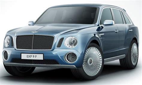 4x4 Bentley Bentley Unveils Its King The Road Luxury Car Maker