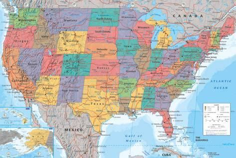 map usa poster usa map photo at allposters