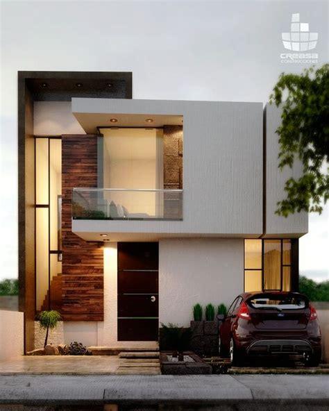 fachadas de casas  madera  muro de piedra decoracion