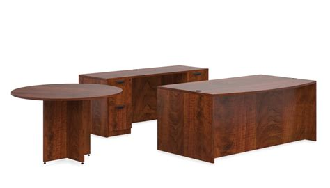 office furniture today otg 71 quot bow front desk set sl g