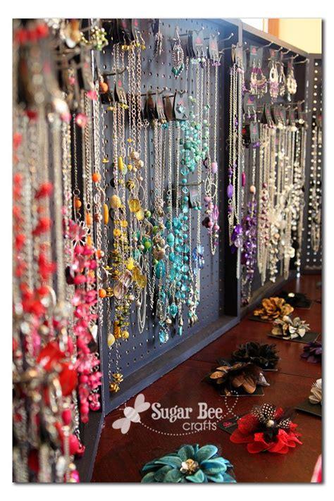 how to make a jewelry display board peg board display