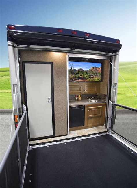 Rv With Patio by Outlaw Haulers From Thor Motor Coach Continue To