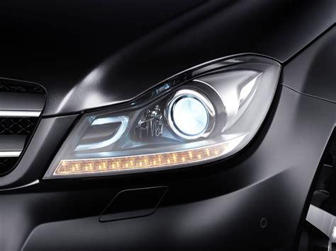 mercedes headlights at mercedes ml bi xenon headlights