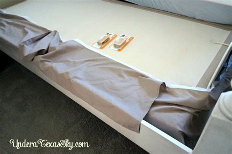 using a bedskirt with an adjustable bed a sky