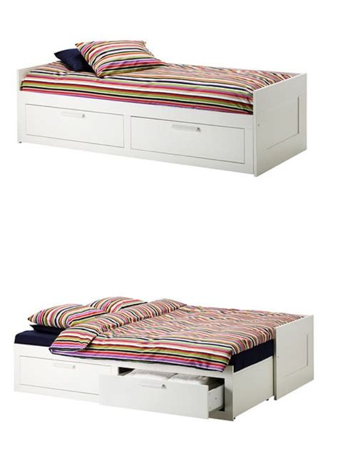 Ikea Brimnes Daybed Brimnes Daybed Frame With 2 Drawers White Beds And Beds