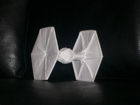 Origami Tie Fighter - origami tie fighter