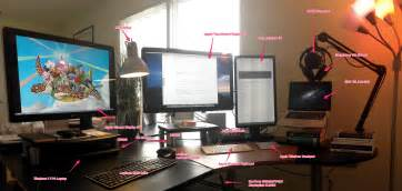 Programmer Desk Setup The Workspace Of A Modern Programmer Yakov Fain S