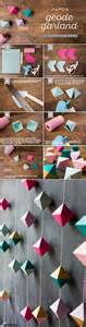 How To Make Garland Out Of Paper - 25 unique paper garlands ideas on diy garland