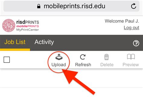 google images upload mobile print from google drive on ios