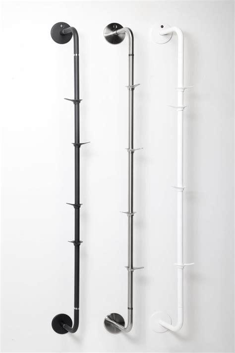 Kapstok Stainless fixed coat rack wall vertical rizz