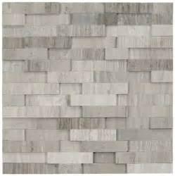 3d polished grey brick tile subway tile outlet