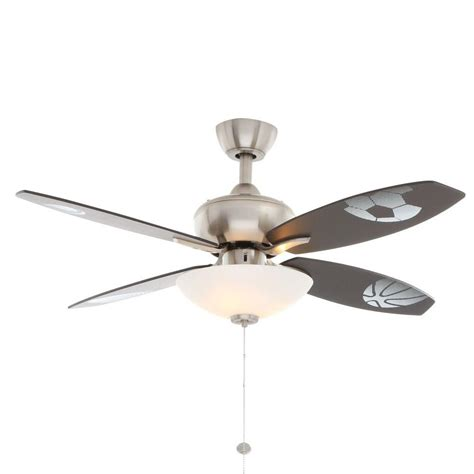 nickel ceiling fan with light hton bay ceiling fan light kit cap gallery of hton