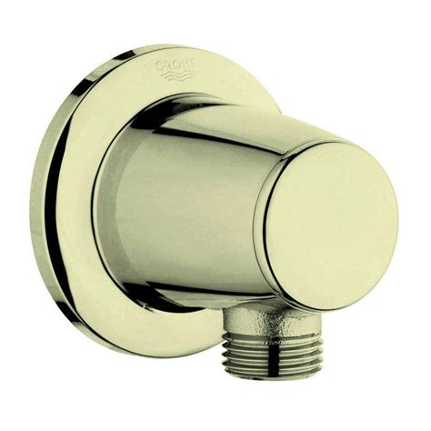 grohe bathroom fittings catalogue grohe movario 1 2 in brass wall union in infinity