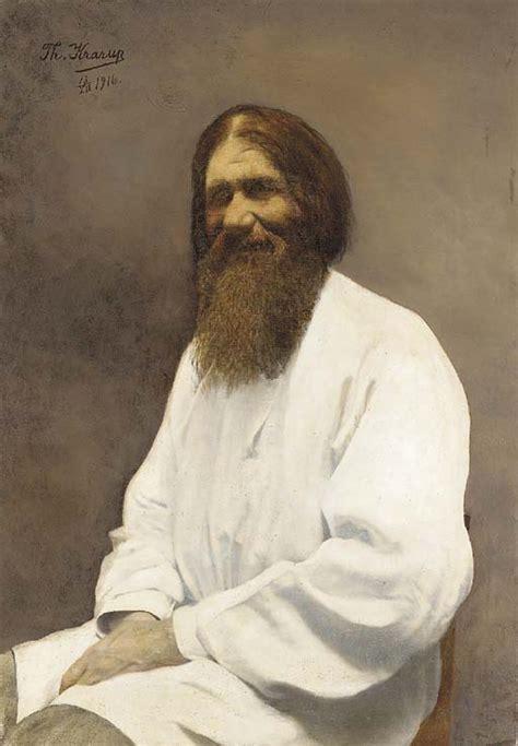 House Portrait Artist file anna theodora krarup portrait of rasputin 1916 jpg