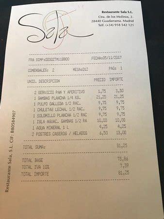 restaurante sala guadarrama sala guadarrama fotos n 250 mero de tel 233 fono y restaurante