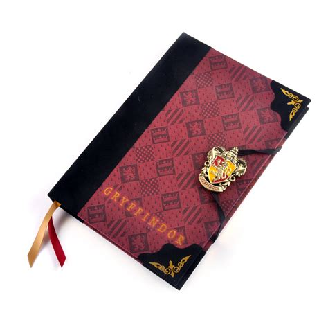 harry potter gryffindor ruled notebook books harry potter gryffindor premium journal notebook noble
