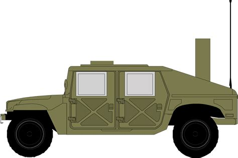 ww2 jeep side view free vector graphic jeep hammer green free