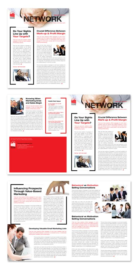 technology newsletter template technology consulting newsletter template