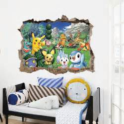 Pokemon Wall Stickers Online Buy Wholesale Pokemon Wall Sticker From China