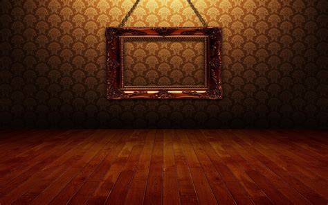 wall wallpaper hd golden photo frame on the wall wallpaper download free 149661