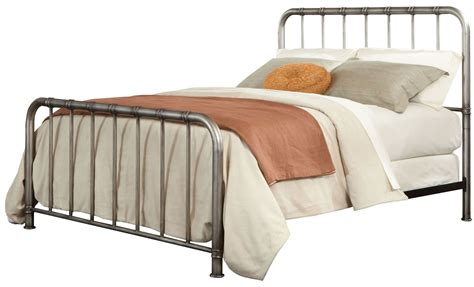 metal king bed tristen antique pewter king metal bed 87531 32 standard