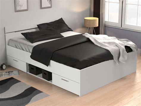 letto 140x200 ikea letto gaspard con cassetti 140x190 cm bianco