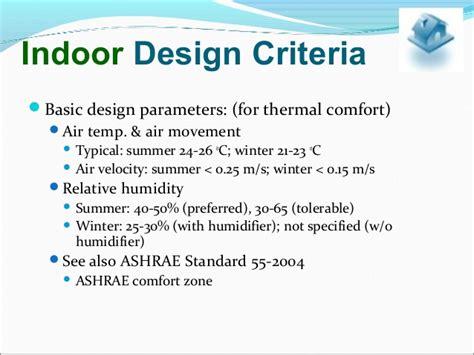 designing for comfort iaq air distribution per ashrae hvac psychrometry and concepts