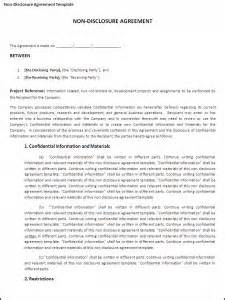 sle non disclosure agreement template mod 232 les microsoft office non disclosure mod 232 le d accord
