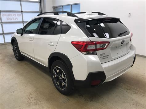 white subaru crosstrek 2018 subaru crosstrek 4 door sport utility in