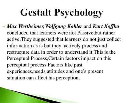 pattern matching the gestalt approach gestalt psychology