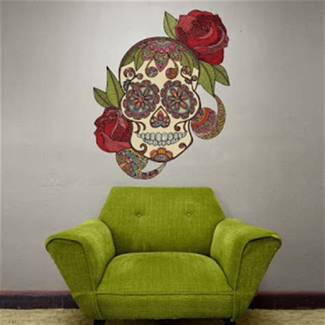 Day Of The Dead Bedroom Ideas by Bedroom Decor Ideas And Designs Creepy Skull Themed