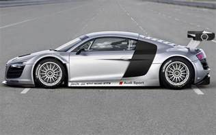 Audi R8 Side Audi R8 Lms Side Photo 5