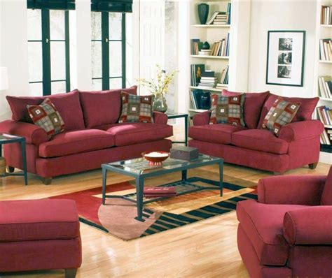18 maroon living room furniture and interior design ideas