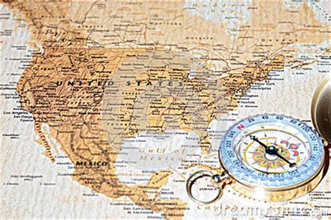 united states map with compass travel destination united states ancient map with vintage