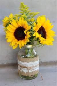sunflower centerpieces celebration flair summery sunflowers